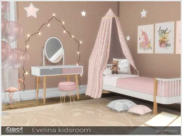 The Sims Resource Evelina Kidsroom By Severinka Sims 4