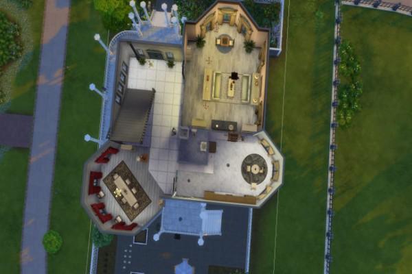 Blackys Sims 4 Zoo: Villa Ophelia by xenia491
