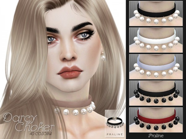 The Sims Resource: Darcy Choker by Pralinesims