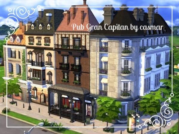 The Sims Resource: Pub Gran Capitan by Casmar