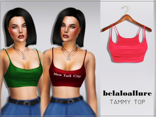 The Sims Resource: Tammy top by belal1997