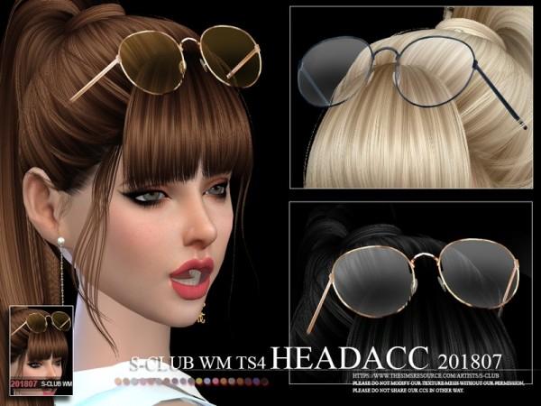 The Sims Resource: Headacc FM 201807 by S Club