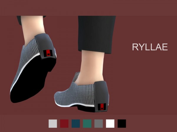 The Sims Resource: Shoe A1 by RyllaeSims
