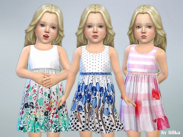 The Sims Resource: Dresses Collection P70 by lillka