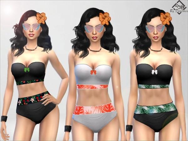 The Sims Resource: Summer 2018 Bikini by Devirose
