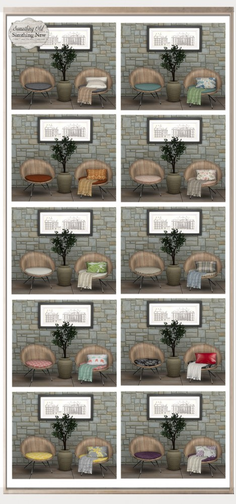 Simthing New: Peggy Sims Chair