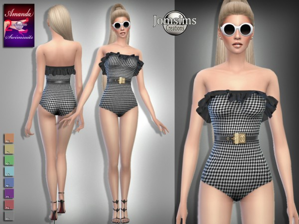 The Sims Resource: Amanda swimsuits 2 by Jomsims