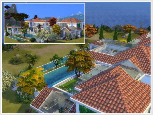 The Sims Resource: Villa Olya No CC by Philo