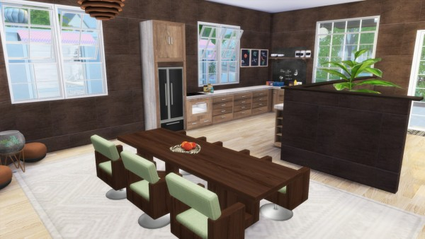 Simming With Mary: Chocolate Dream house