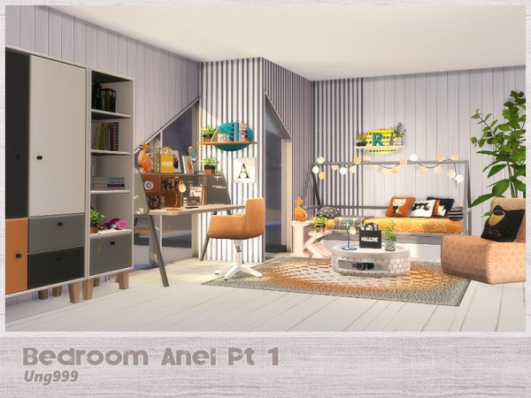 The Sims Resource: Bedroom Anel Pt. 1 by ung999
