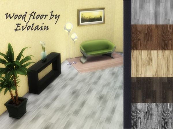 The Sims Resource: Wood floor laminate by Evolain