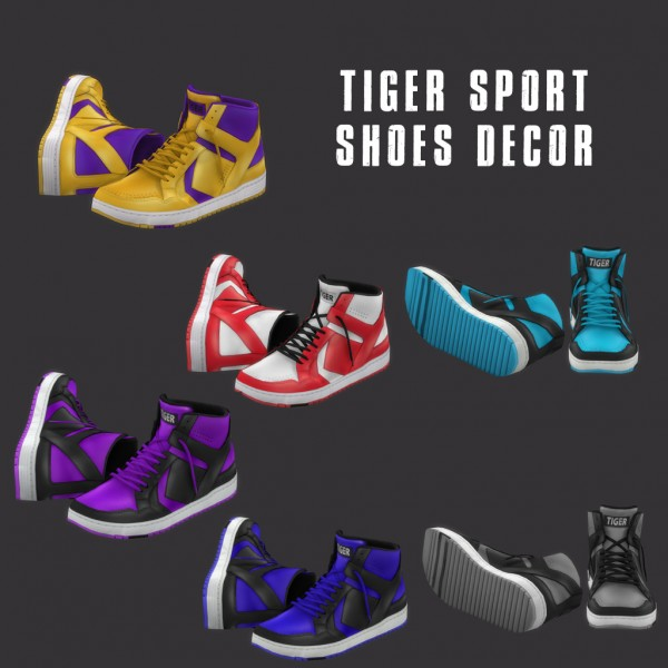 Leo 4 Sims: Tiger shoes