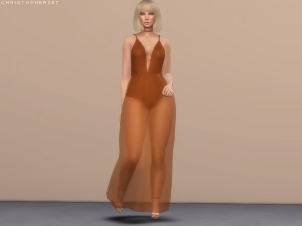 The Sims Resource: Sweetener Dress by Christopher067