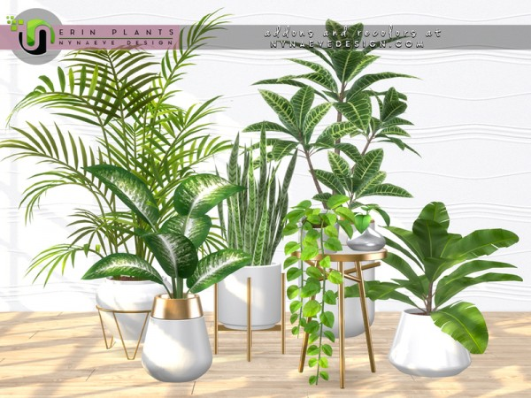 The Sims Resource: Erin Plants by NynaeveDesign