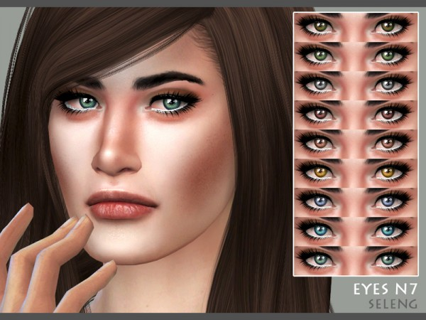 The Sims Resource: Eyes N7 by Seleng
