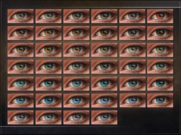 The Sims Resource: Plasticity Eyes by RemusSirion