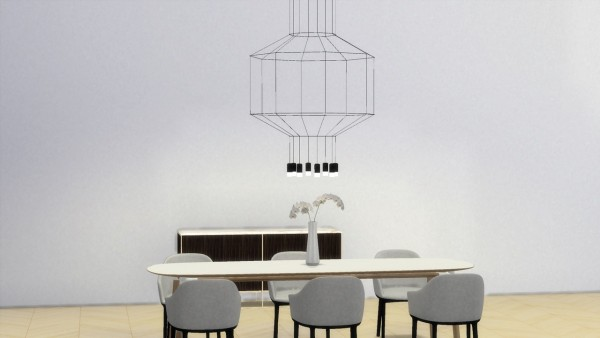 Meinkatz Creations: Wireflow 300 lamp by Vibia