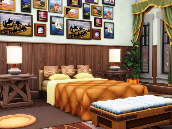 The Sims Resource: Cozy Autumn Residence by MychQQQ