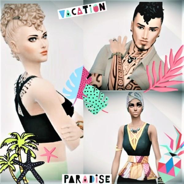 Agathea k: Sim in caribbean new style