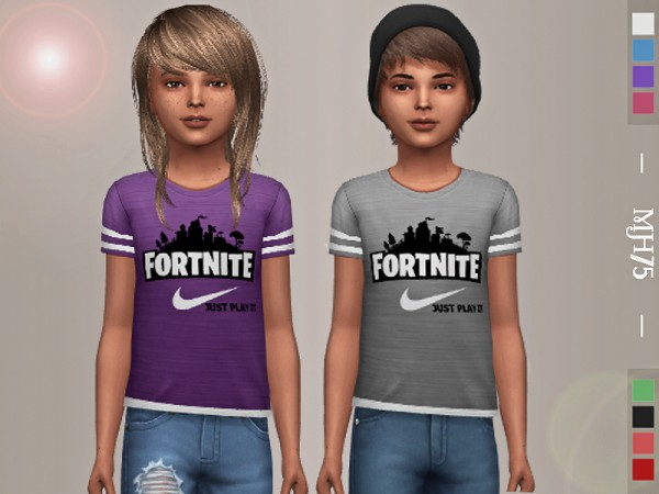 The Sims Resource: Fortnite Tops by Margeh 75