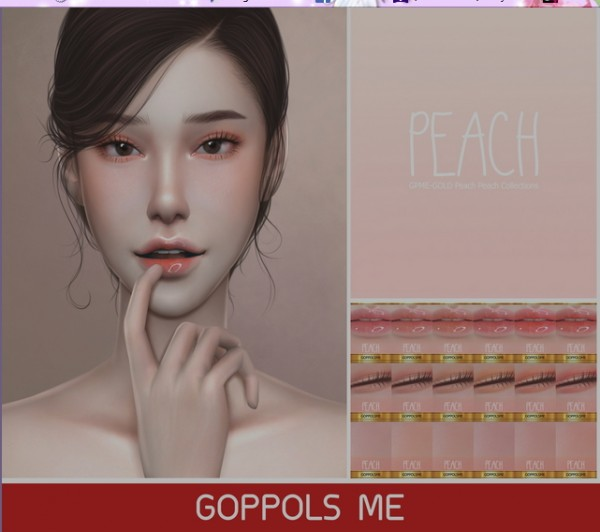 GOPPOLS Me: Peach Peach Collections
