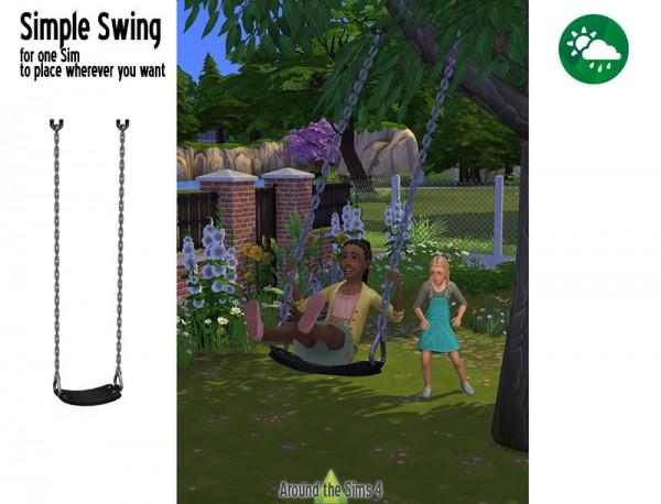 Around The Sims 4: Simple Swing