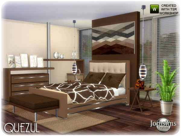 The Sims Resource: Quezul bedroom by jomsims