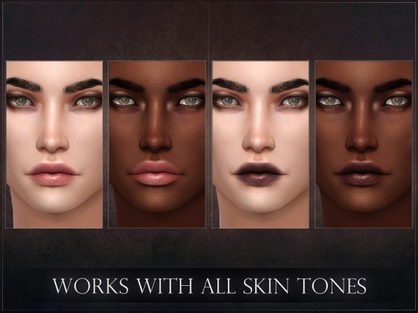 The Sims Resource: Spectrum Lipstick by RemusSirion