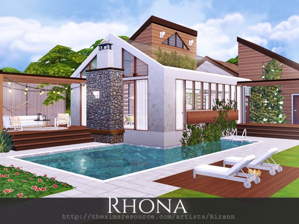 The Sims Resource: Rhona house by Rirann