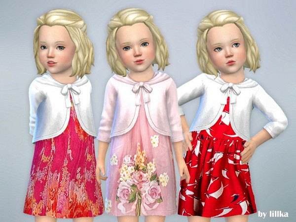 The Sims Resource: Dresses Collection P68 by lillka