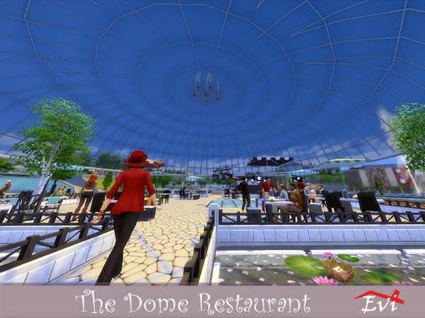 The Sims Resource: The Dome Restaurant by evi