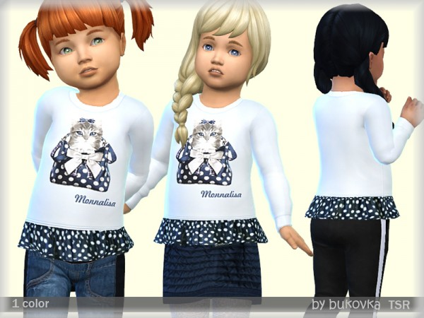 The Sims Resource: Shirt Kitten by bukovka