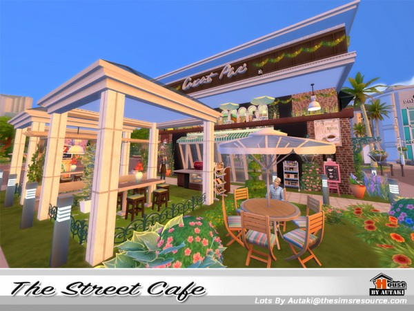 The Sims Resource: The Street Cafe by Autaki