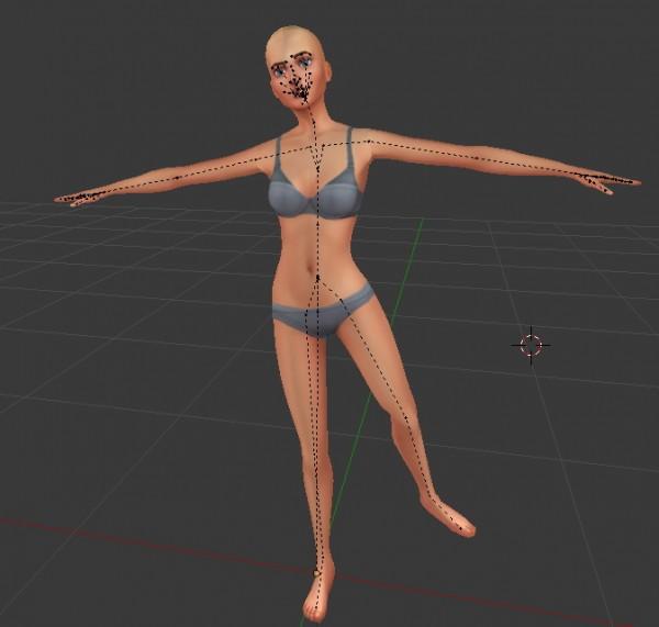 Mod The Sims: Balancing Pose by ChloeTheNinja