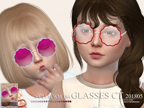 The Sims Resource: Glasses CT 201805 by S Club