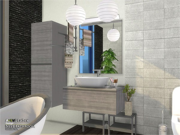 The Sims Resource: Nest Bathroom by ArtVitalex