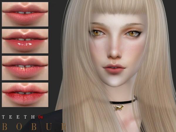 The Sims Resource: Teeth 04 by Bobur