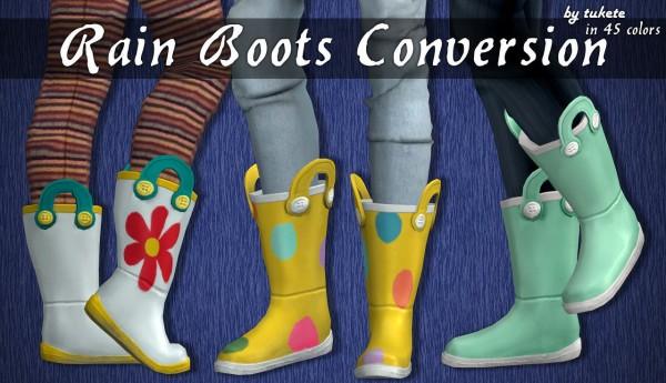 Tukete: Rain Boots