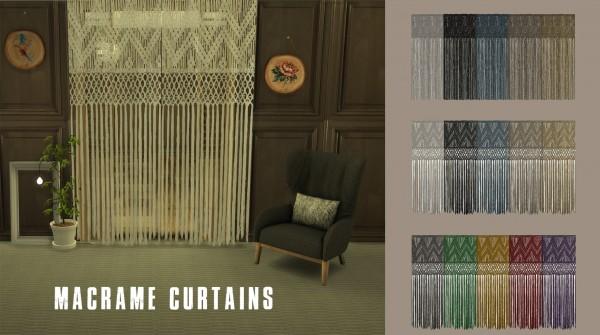 Leo 4 Sims: Macrame Curtain