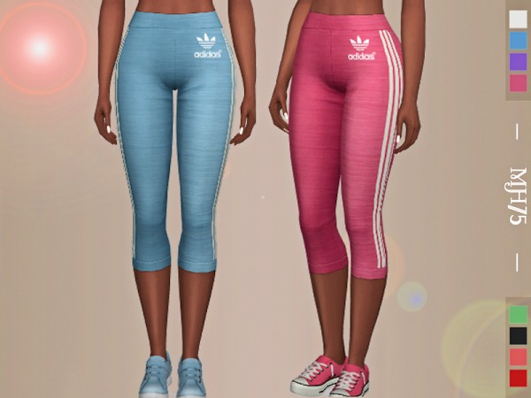 The Sims Resource: Turn It Up Leggings by Margeh 75