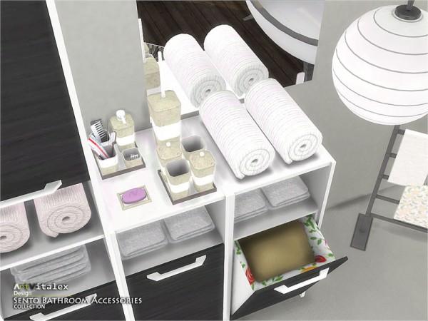 The Sims Resource: Sento Bathroom Accessories by ArtVitalex