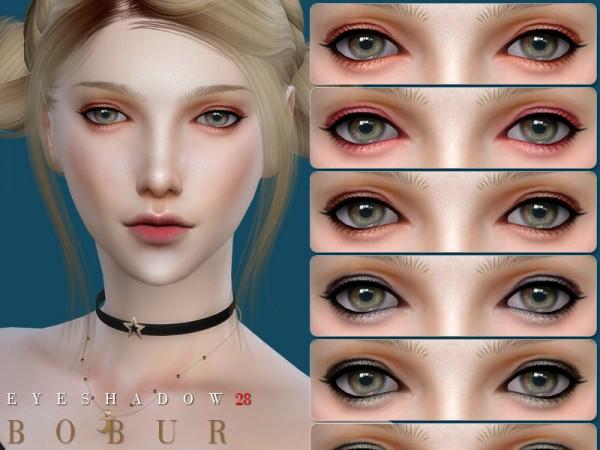 The Sims Resource: Eyeshadow 28 by Bobur3