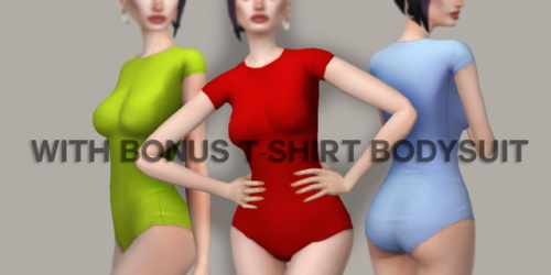 Candy Sims 4: Pin me up dress and t shirt bodysuit