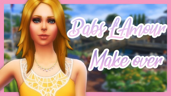 MSQ Sims: Babs LAmour Make Over
