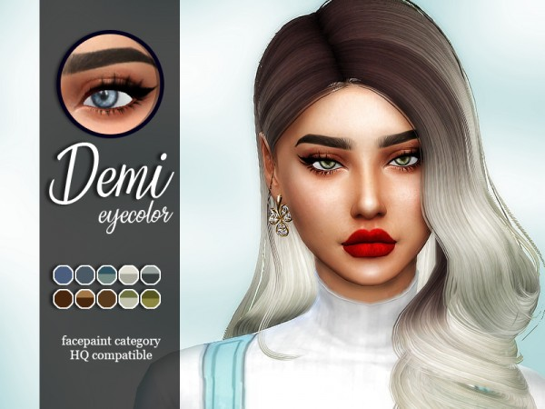 The Sims Resource: Demi Eyecolor by Sharareh