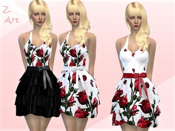 The Sims Resource: Summer Dress by Zuckerschnute20