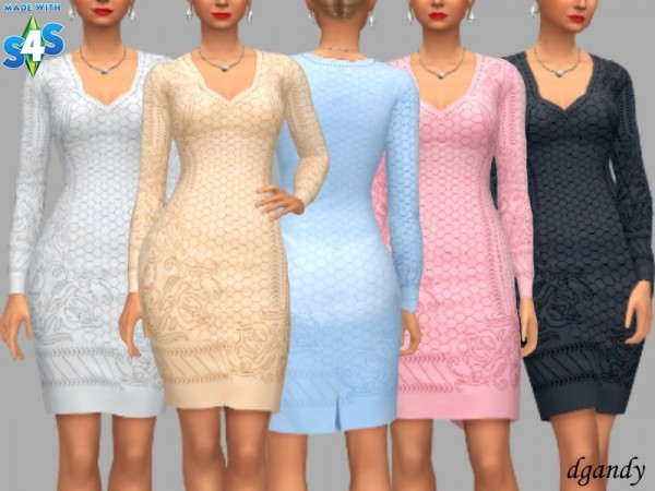 The Sims Resource: Dress  Ellie by dgandy