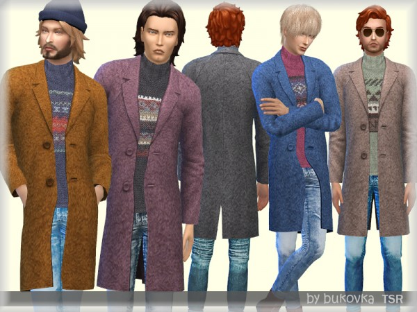 The Sims Resource: Coat Clothes by bukovka