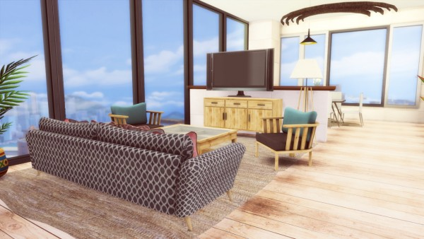Simming With Mary: 122 Hakim House