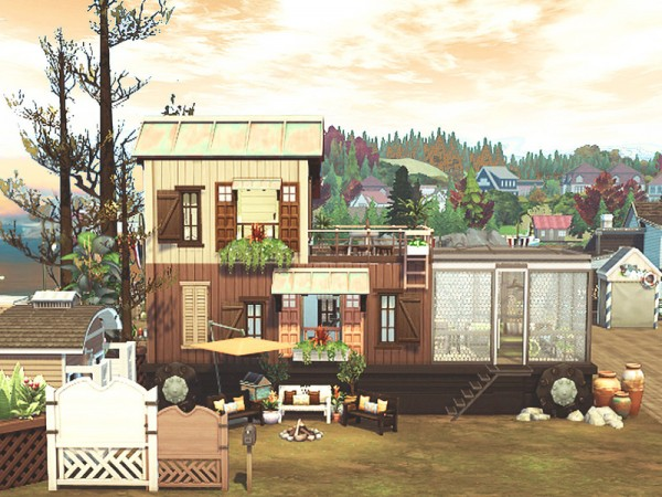 The Sims Resource: The Truck house by hoanglap